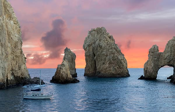 Cabo arch sunset_600x_shutterstock